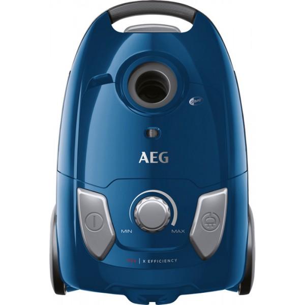 AEG VX4-1-CB-P Ηλεκτρική Σκούπα 750W με Σακούλα 3lt